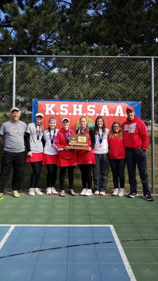 A+third+place+plaque+is+brought+to+Conway+Springs+from+the+3-2-1A++State+Tournament.+The+tournament+this+year+was+held+at+Pratt.