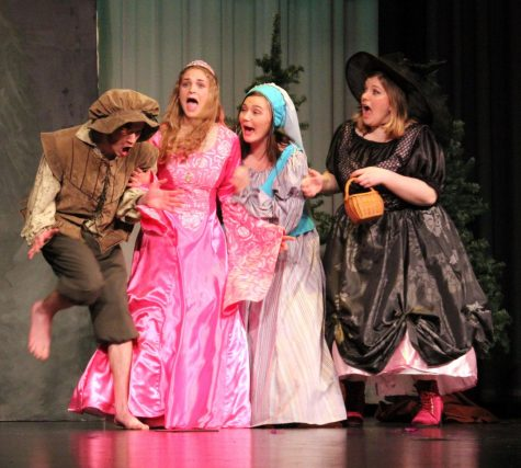 CSHS drama students perform first fall play