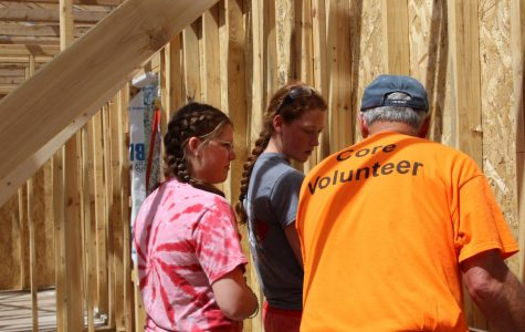 FCCLA volunteers for Habitat for Humanity