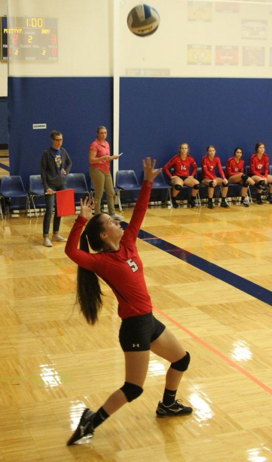 Volleyball girls compete at Chaparral