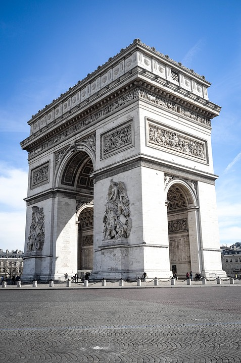The+Arc+de+Triomphe+in+Paris
