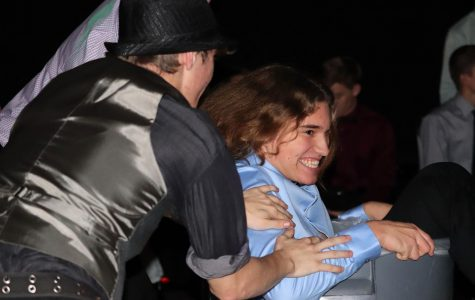 Students show off dance move at Winter Semi-Formal