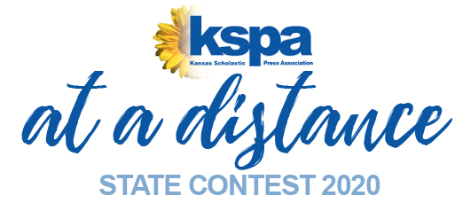 Due to COVID-19, the KSPA State contest took place online from April 17-18 instead of on-site on May 2. Even with this new format, several student journalists placed in the top six in different categories.
