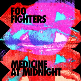 This is the album cover for Medicine at Midnight, Foo Fighters' latest album.