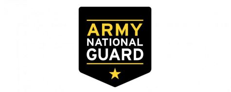 Army National Guard representative visits during lunch